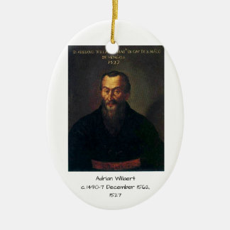 Ornement Ovale En Céramique Adrian Willaert
