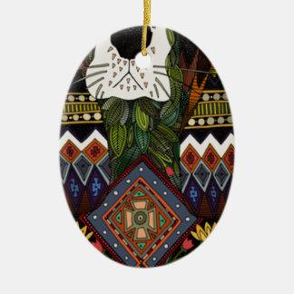 Ornement Ovale En Céramique Amour de Basset Hound