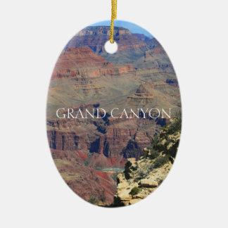 Ornement Ovale En Céramique Canyon grand 4