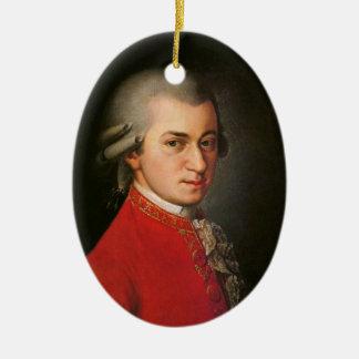 Ornement Ovale En Céramique Décoration de musique classique de portrait de