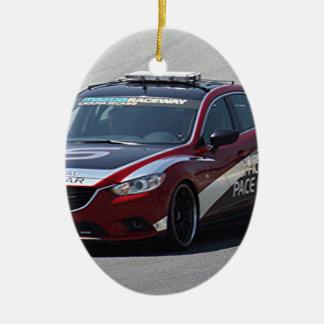 Ornement Ovale En Céramique Emballage automatique de voiture de sport