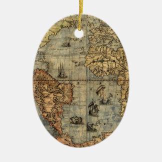 Ornement Ovale En Céramique Illustration 1500 d'impression d'art d'antiquité