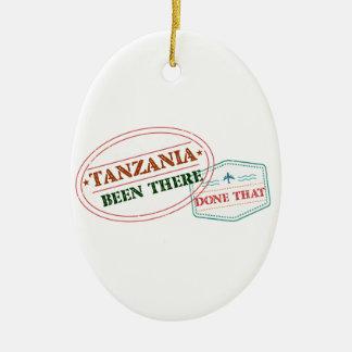 Ornement Ovale En Céramique La Tanzanie là fait cela