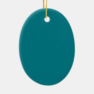 Ornement Ovale En Céramique le modèle de 8 des styles 13 choix de couleur