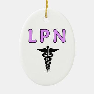 Ornement Ovale En Céramique LPN médical