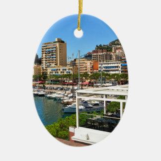 Ornement Ovale En Céramique Monte Carlo au Monaco