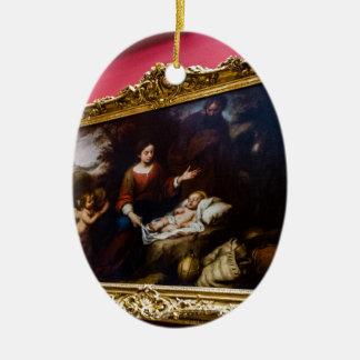 Ornement Ovale En Céramique Musée d'ermitage d'état St Petersburg Russie