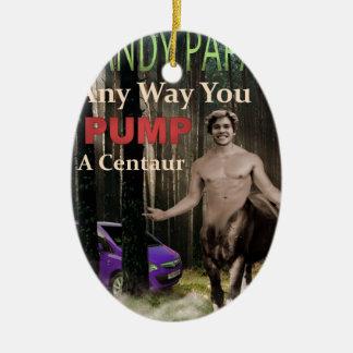 Ornement Ovale En Céramique N'importe quelle manière vous pompez un centaure