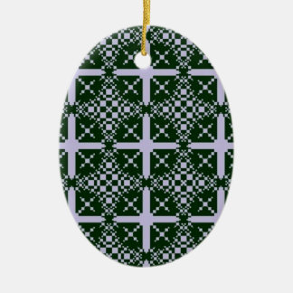 Ornement Ovale En Céramique No. 1 de Hexenwald