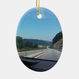 Ornement Ovale En Céramique Photographie de l'Europe Autriche de montagnes de