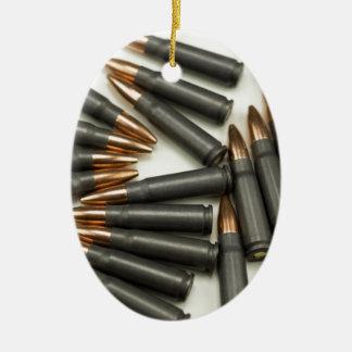 Ornement Ovale En Céramique point creux des munitions 7.62x39mm de munitions
