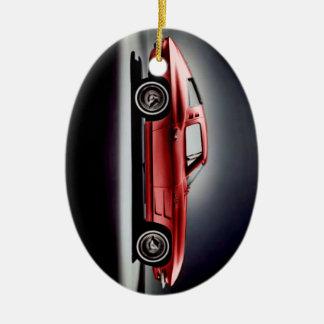 Ornement Ovale En Céramique Rayon 1963 de Corvette Sting