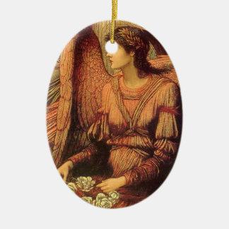 Ornement Ovale En Céramique Remparts de la Chambre de Dieu par Strudwick