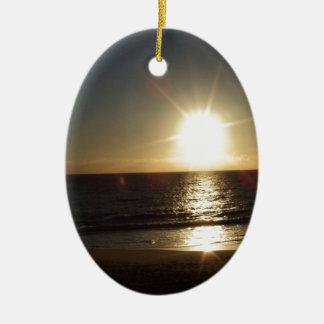 Ornement Ovale En Céramique sunset.JPG