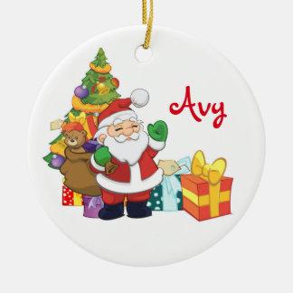 Ornement personnalisé de Père Noël
