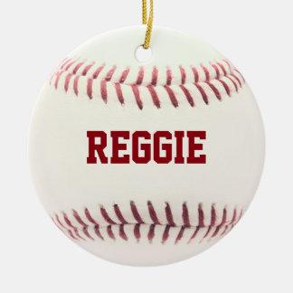 Ornement personnalisé par amant de base-ball