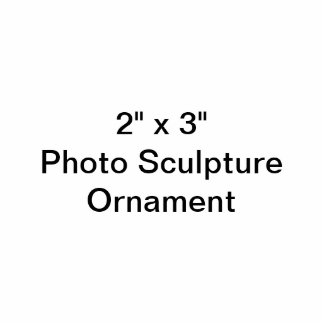 """Ornement Photo Sculpture Coutume 2"""" x 3"""" ornement de sculpture en photo"""
