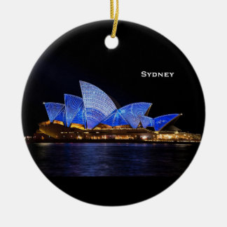 Ornement pittoresque de Noël de Sydney Australie