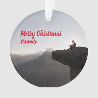 Ornement pittoresque de Noël de Yosemite