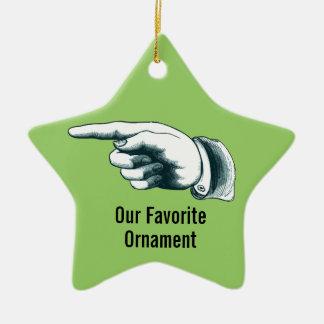 Ornement préféré d'arbre de Noël