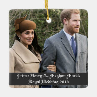 Ornement Prince Harry et mariage royal 2018 de Meghan