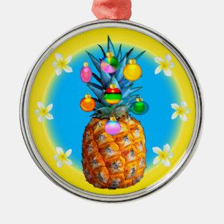Ornement renversant de Noël d'ananas