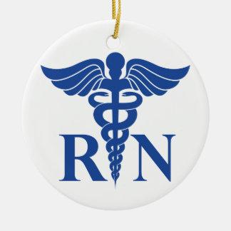 Ornement (RN) de Noël d'infirmier autorisé