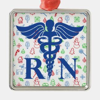 Ornement (RN) fantaisie de Noël d'infirmier