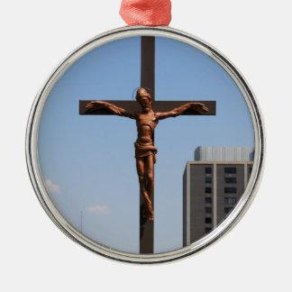 Ornement Rond Argenté 0234 Cross.JPG saints