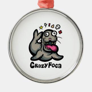 Ornement Rond Argenté CrazyFoca