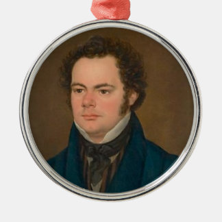 Ornement Rond Argenté Franz Schubert