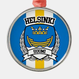 Ornement Rond Argenté Helsinki