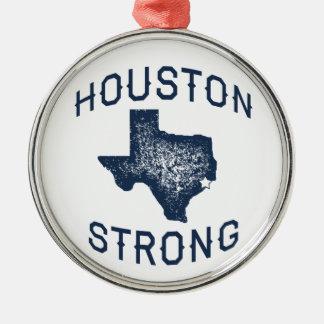 Ornement Rond Argenté Houston fort - Harvey