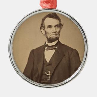 Ornement Rond Argenté Lincoln