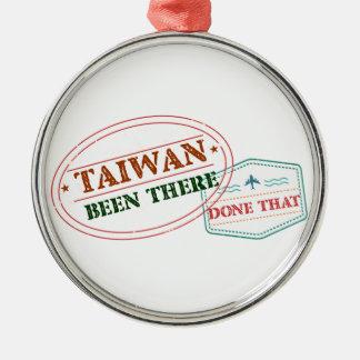 Ornement Rond Argenté Taïwan là fait cela