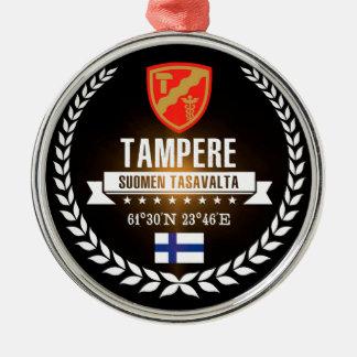 Ornement Rond Argenté Tampere