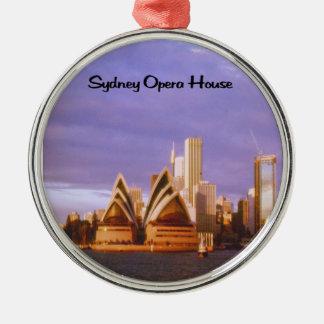 Ornement Rond Argenté Théatre de l'opéra de Sydney