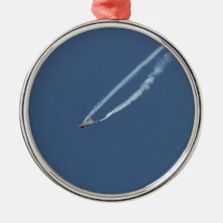 Ornement Rond Argenté Vol 3 d'ouragan d'Eurofighter