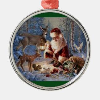 Ornement rond de la meilleure qualité/Père Noël