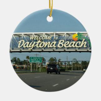 Ornement Rond En Céramique Accueil à Daytona Beach