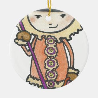 Ornement Rond En Céramique Akiou le petit inuit
