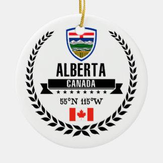 Ornement Rond En Céramique Alberta