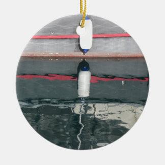 Ornement Rond En Céramique Amortisseurs de bateau accrochant sur le conseil