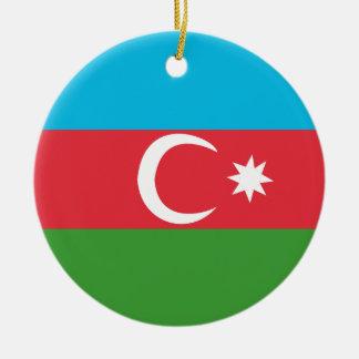 Ornement Rond En Céramique Azerbaijao
