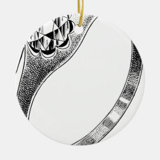 Ornement Rond En Céramique Bague à diamant