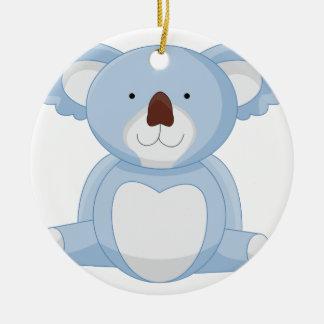 Ornement Rond En Céramique Bande dessinée de koala de bébé