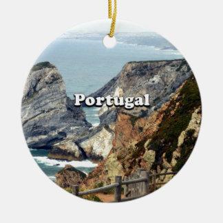 Ornement Rond En Céramique Cabo DA Roca : Le Portugal