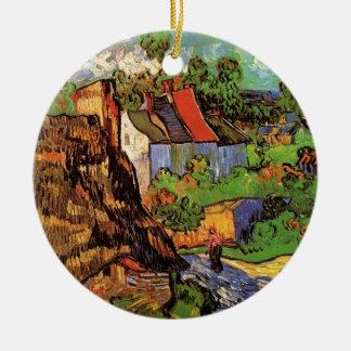 Ornement Rond En Céramique Chambres de Van Gogh dans Auvers, beaux-arts