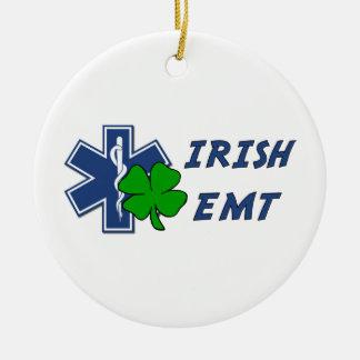 Ornement Rond En Céramique EMT irlandais
