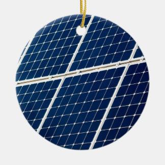 Ornement Rond En Céramique Énergie solaire